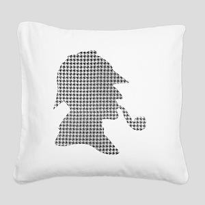 sherlock-holmes-Lore-M-fond-n Square Canvas Pillow