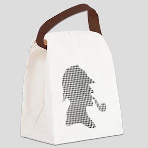 sherlock-holmes-Lore-M-fond-noir- Canvas Lunch Bag
