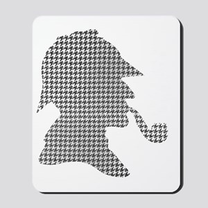 sherlock-holmes-Lore-M-fond-noir-1 Mousepad