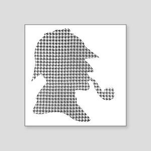 "sherlock-holmes-Lore-M-fond Square Sticker 3"" x 3"""
