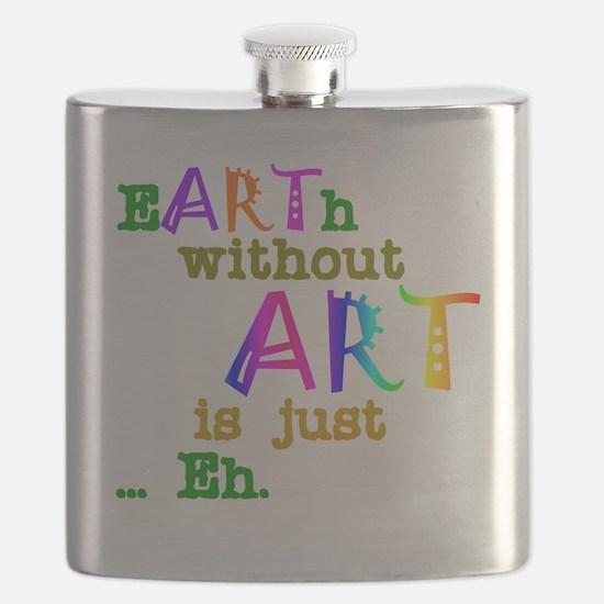 EarthWithoutArt Flask