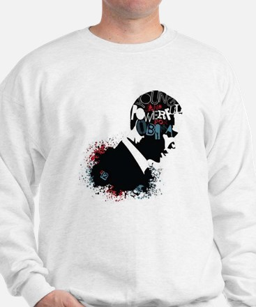 Young and Powerful for Obama Sweatshirt
