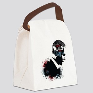 Young and Powerful for Obama Canvas Lunch Bag