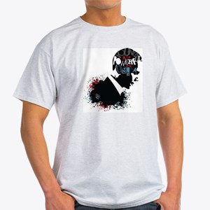 Young and Powerful for Obama Light T-Shirt