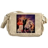 Obama Canvas Messenger Bags