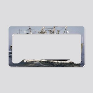 gsitkin large framed print License Plate Holder