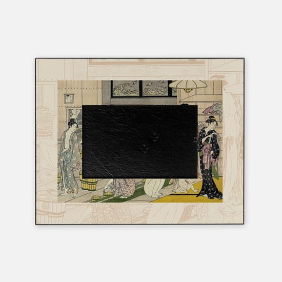 Kiyonaga_bathhouse_women-3SC Picture Frame