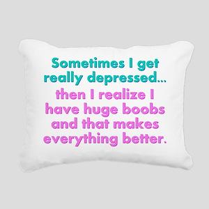 si8x10_ladiesshirt Rectangular Canvas Pillow