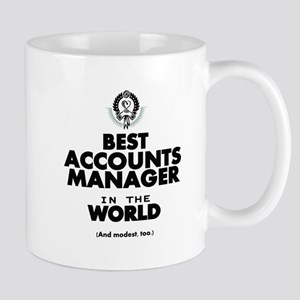 The Best in the World – Accounts Manager Mugs