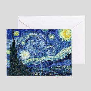 van gogh starry nightOriginal Greeting Card