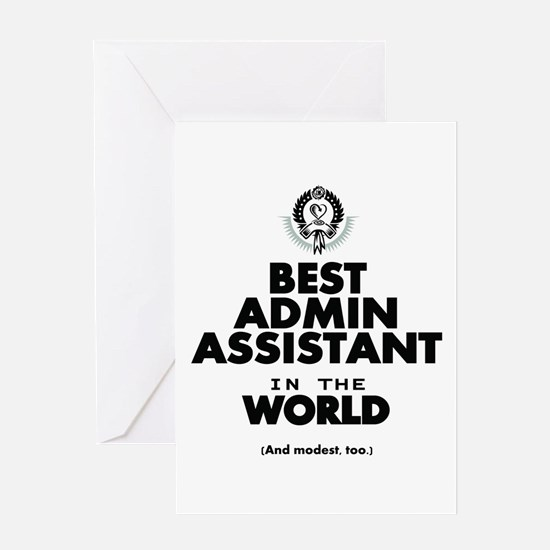 The Best in the World – Admin Assistant Greeting C
