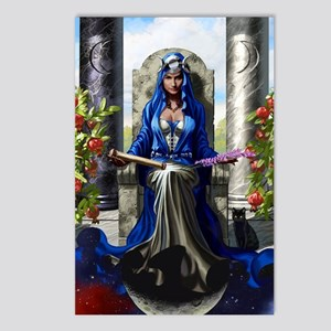 02 theHighPriestess_finis Postcards (Package of 8)
