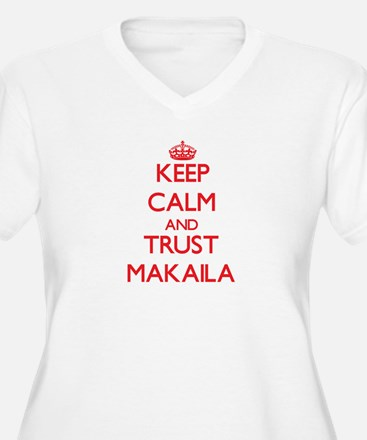 Keep Calm and TRUST Makaila Plus Size T-Shirt