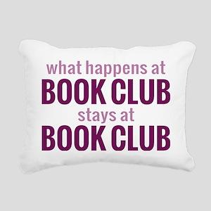 bookclubpur Rectangular Canvas Pillow