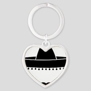 mexican Heart Keychain