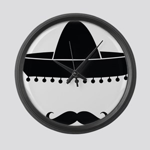 mexican Large Wall Clock