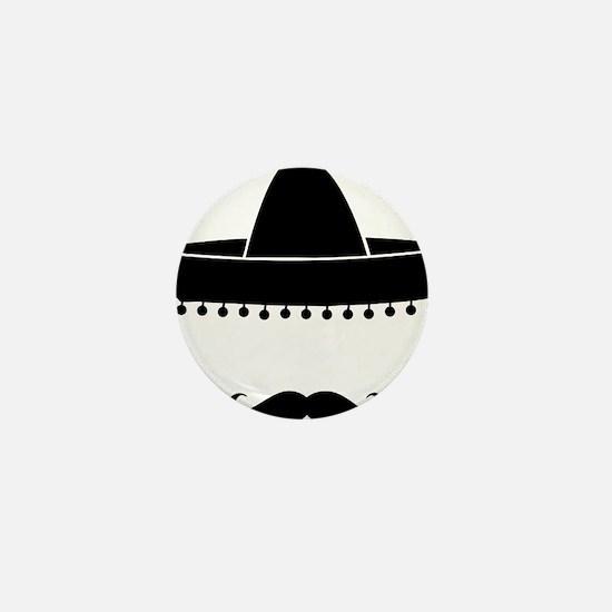 mexican Mini Button