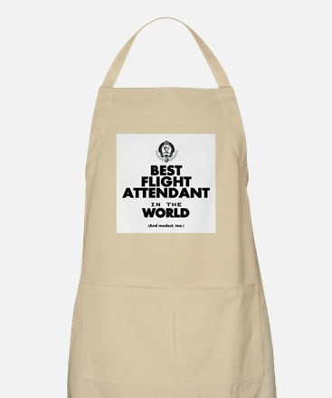The Best in the World – Flight Attendant Apron