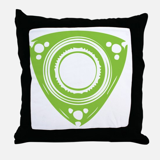 rotarybutton Throw Pillow