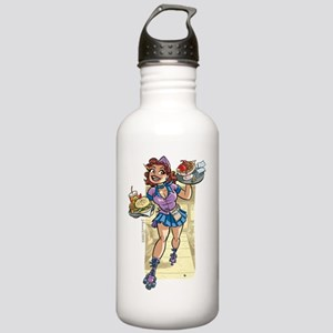 Libra_F_TShirt Stainless Water Bottle 1.0L