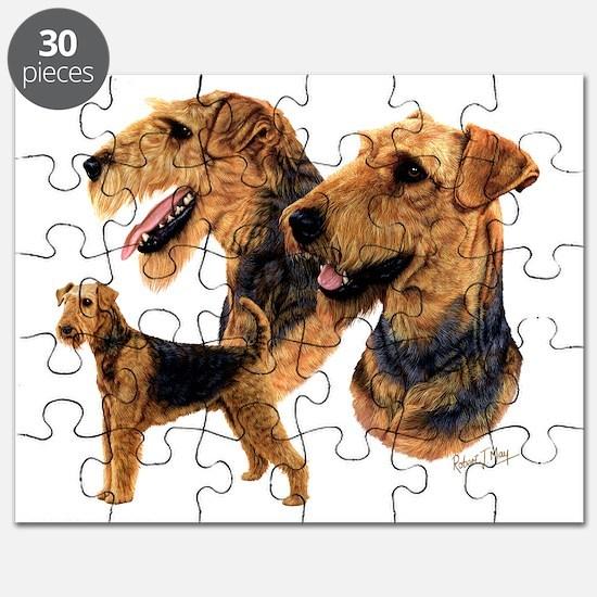 Airedale dark copy Puzzle