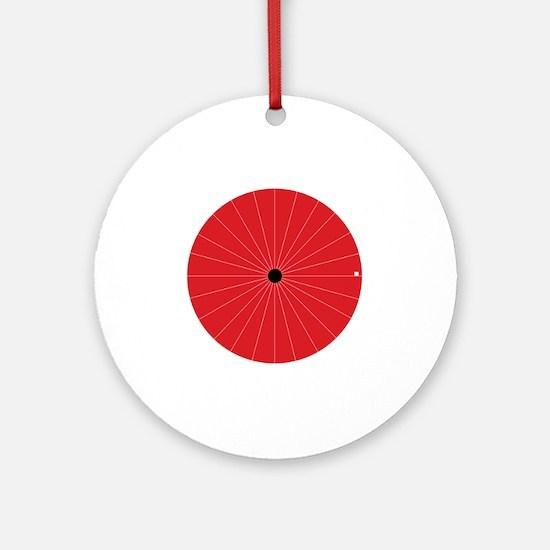 blind_spot Round Ornament