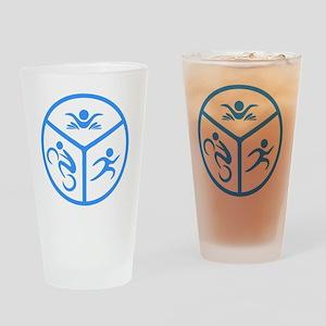 Tri1 Drinking Glass