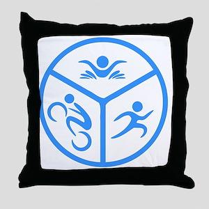 Tri1 Throw Pillow