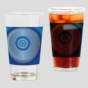 Blue Button shower curtain 01016-SW Drinking Glass