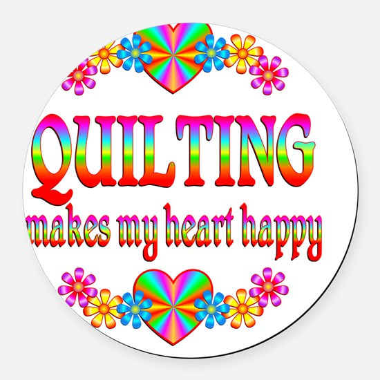quilting Round Car Magnet