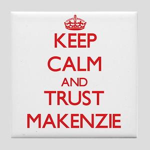 Keep Calm and TRUST Makenzie Tile Coaster