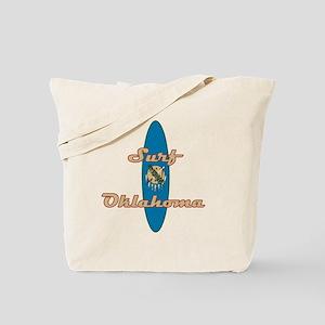 Surf Oklahoma Tote Bag