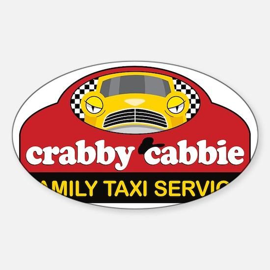 crabbycabbieK Sticker (Oval)