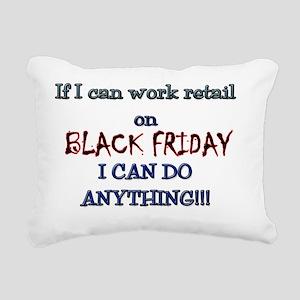 BLACK FRIDAY LAYERS Rectangular Canvas Pillow