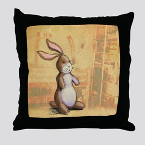 Velvet-Rabbit 3 Throw Pillow