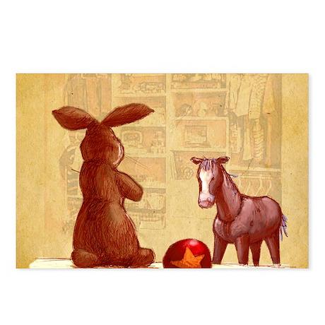 Velvet-Rabbit 2 Postcards (Package of 8)