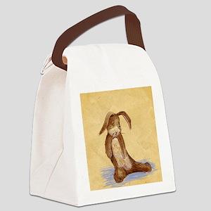 Velvet-Rabbit 7 Canvas Lunch Bag
