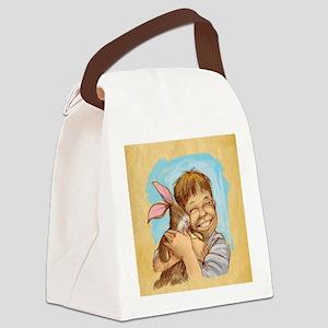Velvet-Rabbit 4 Canvas Lunch Bag