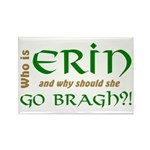Confused About Erin Go Bragh Rectangle Magnet