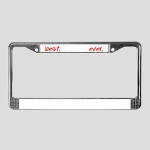 best-teacher-everdark License Plate Frame