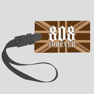 808Forever-myflag Large Luggage Tag