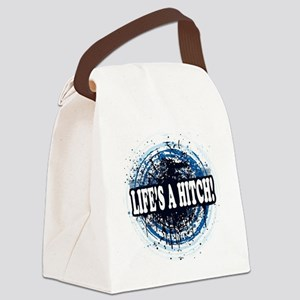 lifesahitch copy Canvas Lunch Bag