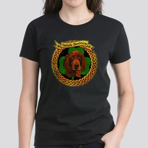--CELTIC-IRISH-SETTER-SMALL Women's Dark T-Shirt