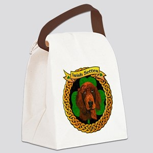 --CELTIC-IRISH-SETTER-SMALL Canvas Lunch Bag