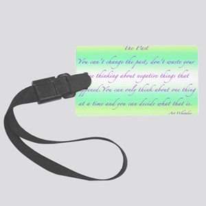 The Past 35x23 200dpi Large Luggage Tag