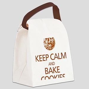Keep Calm Bake Cookies2 copy Canvas Lunch Bag
