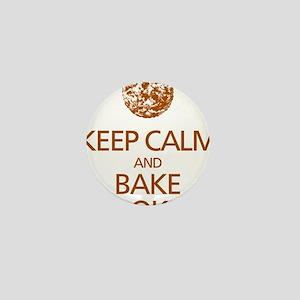 Keep Calm Bake Cookies2 copy Mini Button