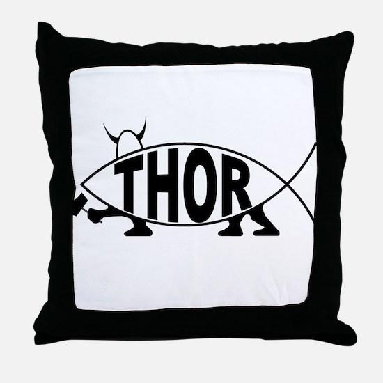 Thor Fish Throw Pillow