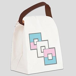 Transgender Pride Canvas Lunch Bag