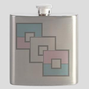 Transgender Pride Flask